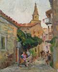 Street of Budva. Zhukova Juliya