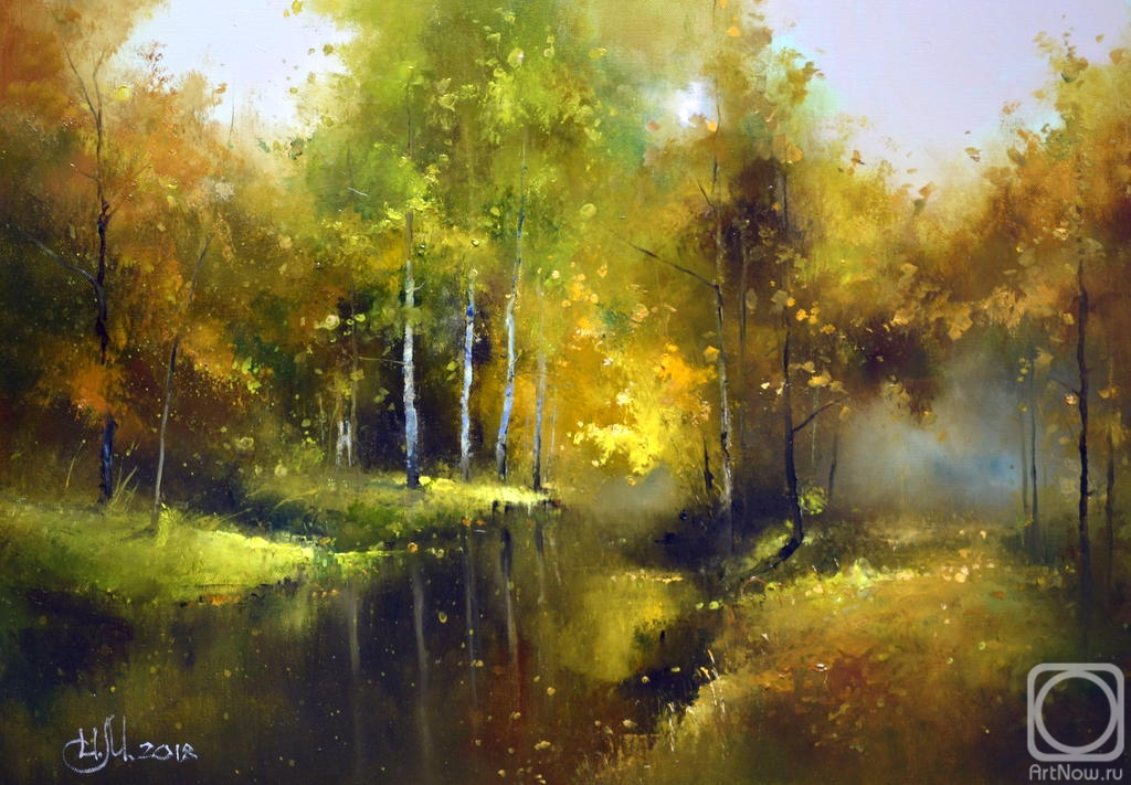 Medvedev Igor. Autumn days