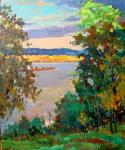Mishagin Andrey. Evening on the Volga