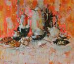Grigorieva-Klimova Olga. Still life on a bright background