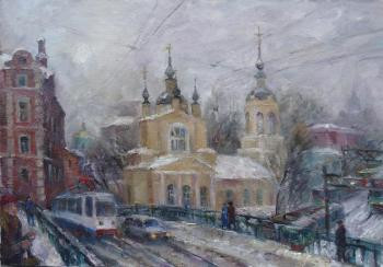 Intercession Church (lower Krasnoselskaya). Kalmykova Yulia