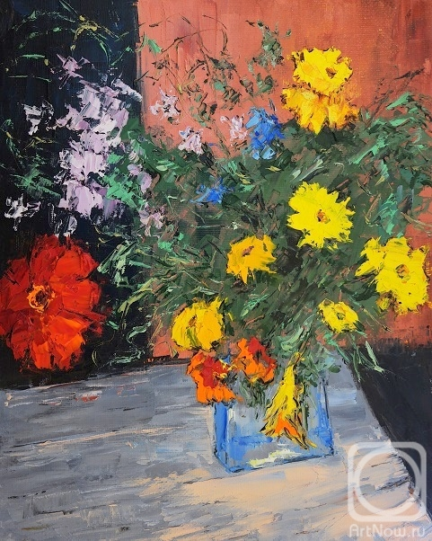 Averchenkov Oleg. The last bouquet Sep