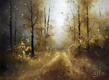 Medvedev Igor. Road of autumn