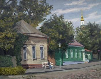 Paroshin Vladimir. The Krutitsky metochion