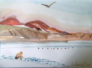 Koktebel. Beach sketches. No. 2. Petrovskaya-Petovraji Olga