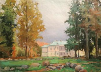 Vedeshina Zinaida. The old homestead. The manor house