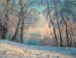 Winter morning. Panov Eduard