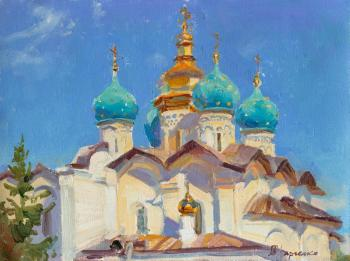 Kharchenko Victoria. Domes of the Annunciation Cathedral