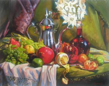 Still life with fruit. Goryacheva Svetlana
