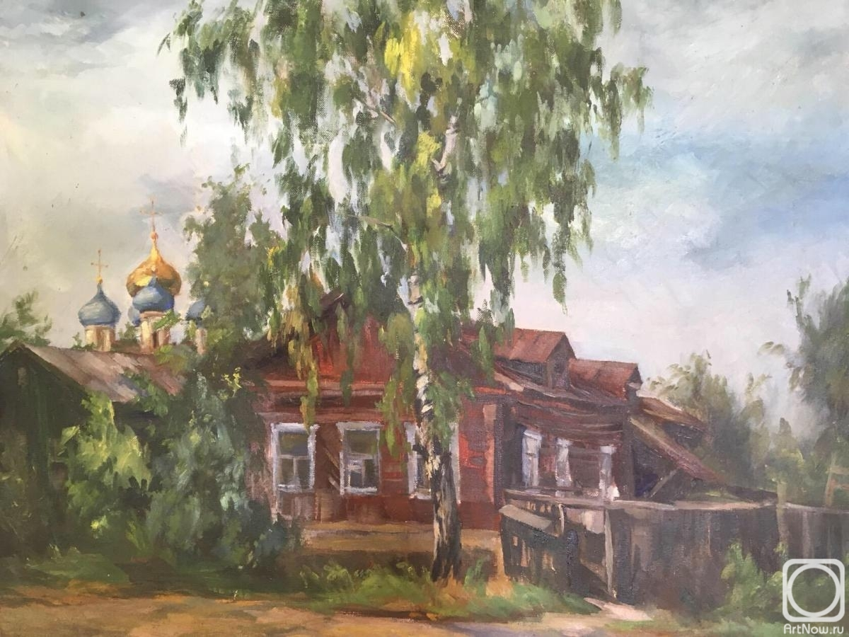 Vatukhina Eugene. The surrounding area of the Ryazan Kremlin