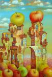 Apple city. Sulimov Alexandr