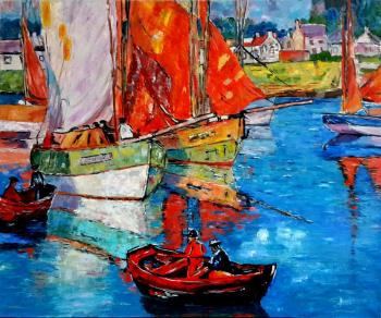 Strunina Galina. British boats