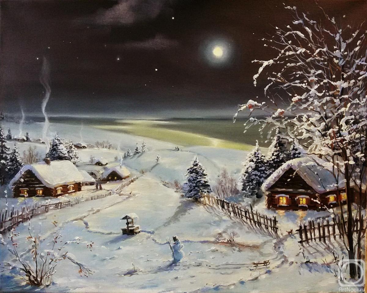 картина ночь перед рождеством кот взял себя