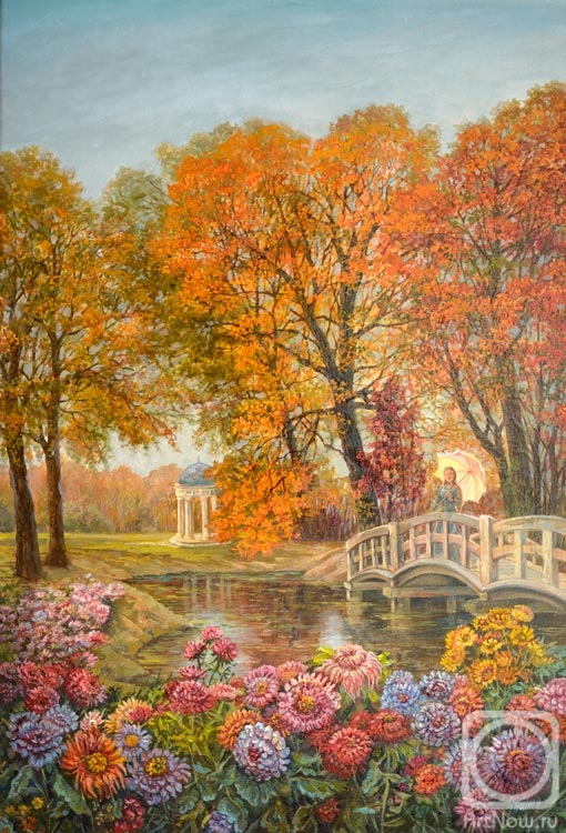Panov Eduard. In the old Park