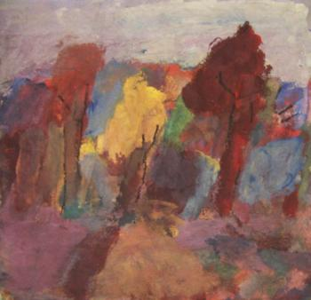 Jelnov Nikolay. Autumn trees