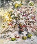 Charina Anna. Bouquet in the snow