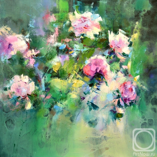 Kleshchyov Andrey. Peonies. The music of colour