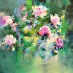 Peonies. The music of colour. Kleshchyov Andrey