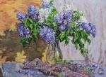 Volya Alexander. Lilac in the sun