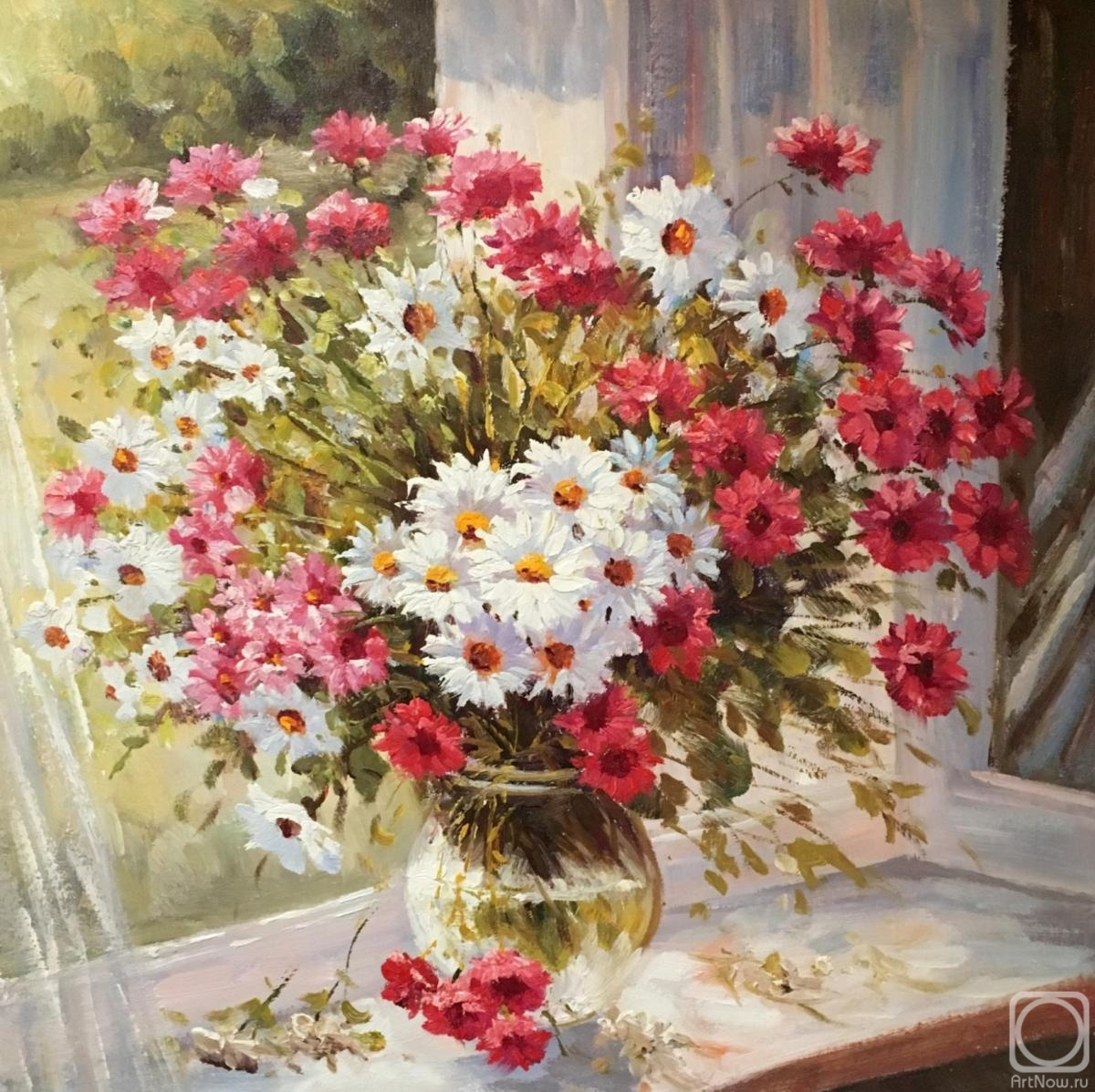 Dzhanilyatii Antonio. Summer flowers