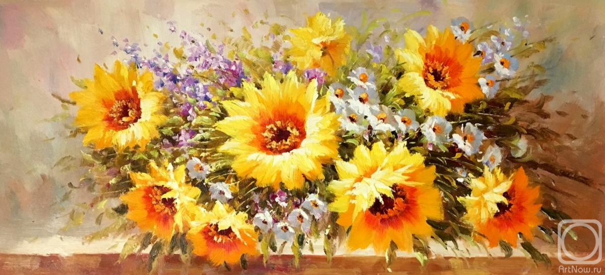 Dzhanilyatii Antonio. Sunflowers