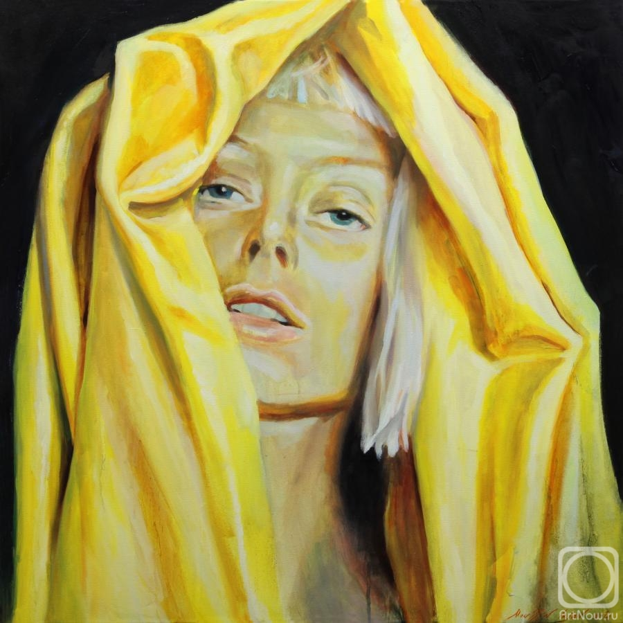 Moussin Irjan. Girl in yellow