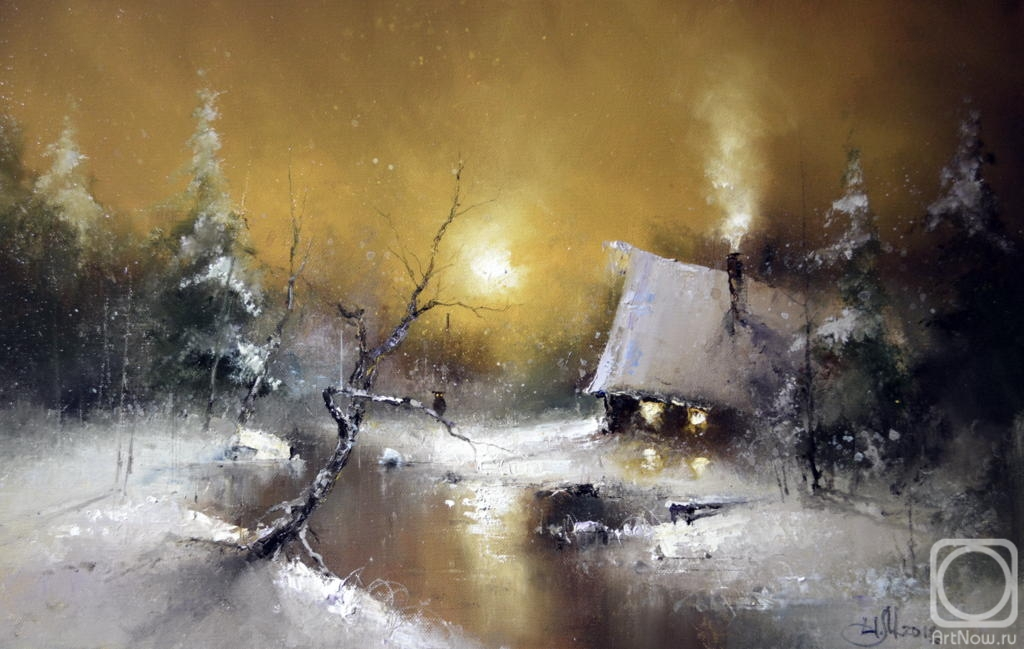 Medvedev Igor. One winter night