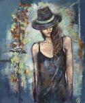 Gerdt Irina. The girl in the hat
