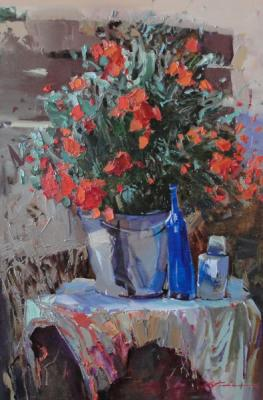 Stillife with poppies. Kovalenko Lina