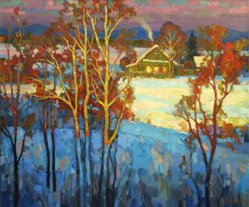 Winter sun. Volkov Sergey