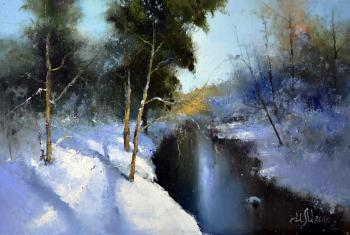 Medvedev Igor. Along the winter river