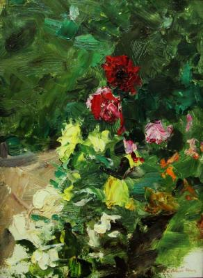 Flowers of the Nikitsky Botanical garden (Garden Flowers). Gremitskikh Vladimir