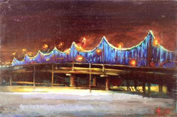 Rybina-Egorova Alena. Evening new year's bridge