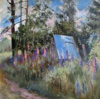 Malyusova Tatiana. The well at the edge of the forest