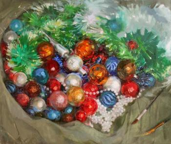 Rybina-Egorova Alena. Still Life New Year