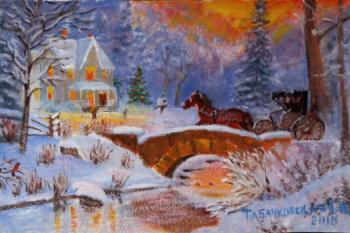 Christmas is coming (copy). Kudryashovа Galina