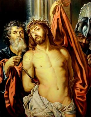 Christ in the crown of thorns (copy of Rubens). Litvinov Valeriy