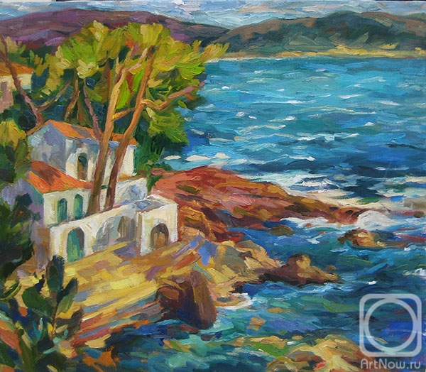 Bocharova Anna. The Catalan coast