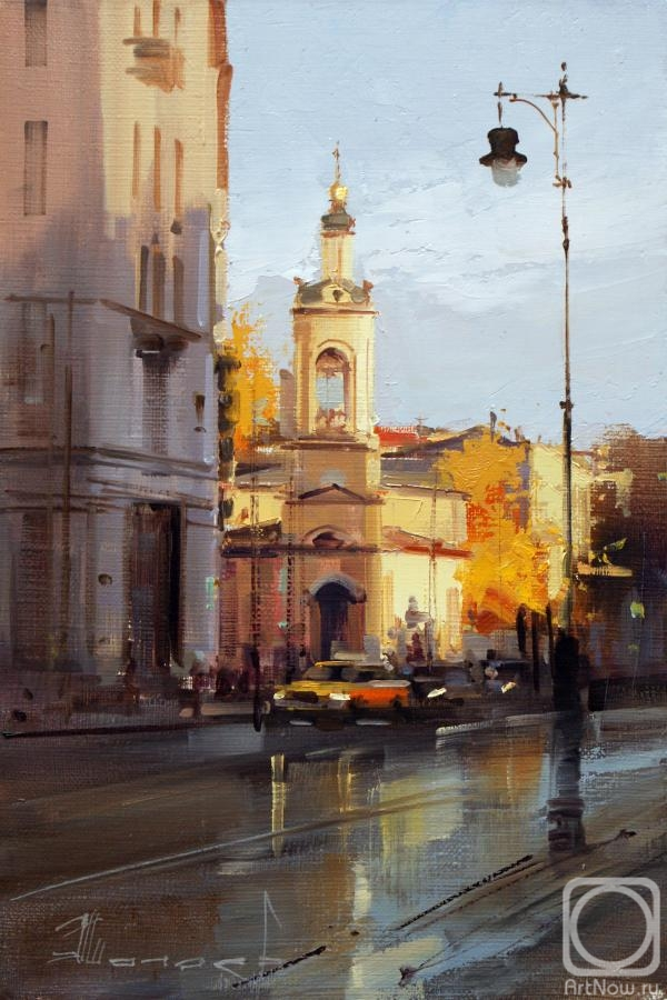 Shalaev Alexey. Church of the Nativity of the Virgin on Solyanka. Moscow