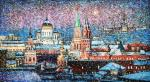 Over Moscow sweep snowstorms. Razzhivin Igor