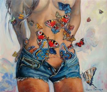 Butterflies in the stomach. Ostraya Elena