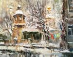 Charina Anna. Winter in the 1st Monetchikovskiy pereulok