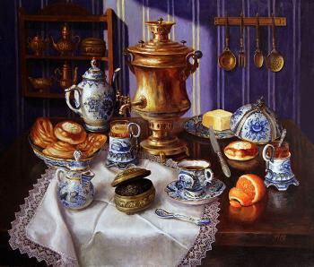Картины Чай С Плюшками — купить на ArtNow.ru