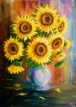 Manucharyan Aram. Sunflowers