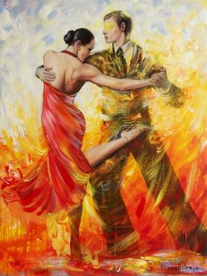 Dance of passion. Ostraya Elena