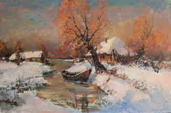 Kremer Mark. Winter, stream