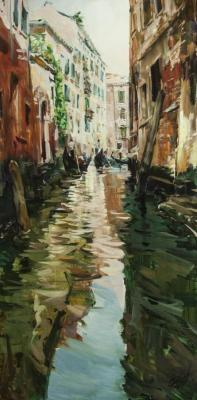 The Canals Of Venice. Stroev Mikhail