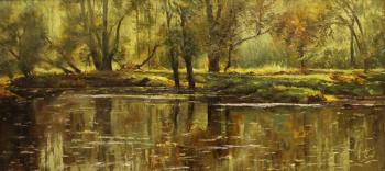 Popov Alexander. Pond in the park