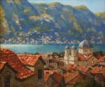 The roofs of the old Kotor
