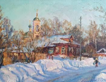 Winter in Pavlovsky Posad